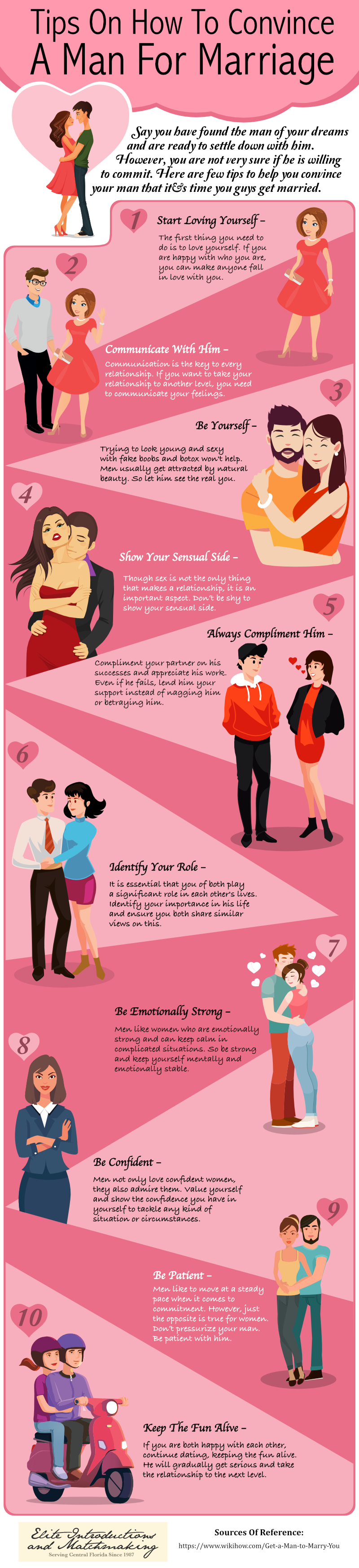 Tips On How To Convince A Man For Marriage