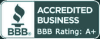 A+ rated with the Greater Orlando Better Business Bureau.